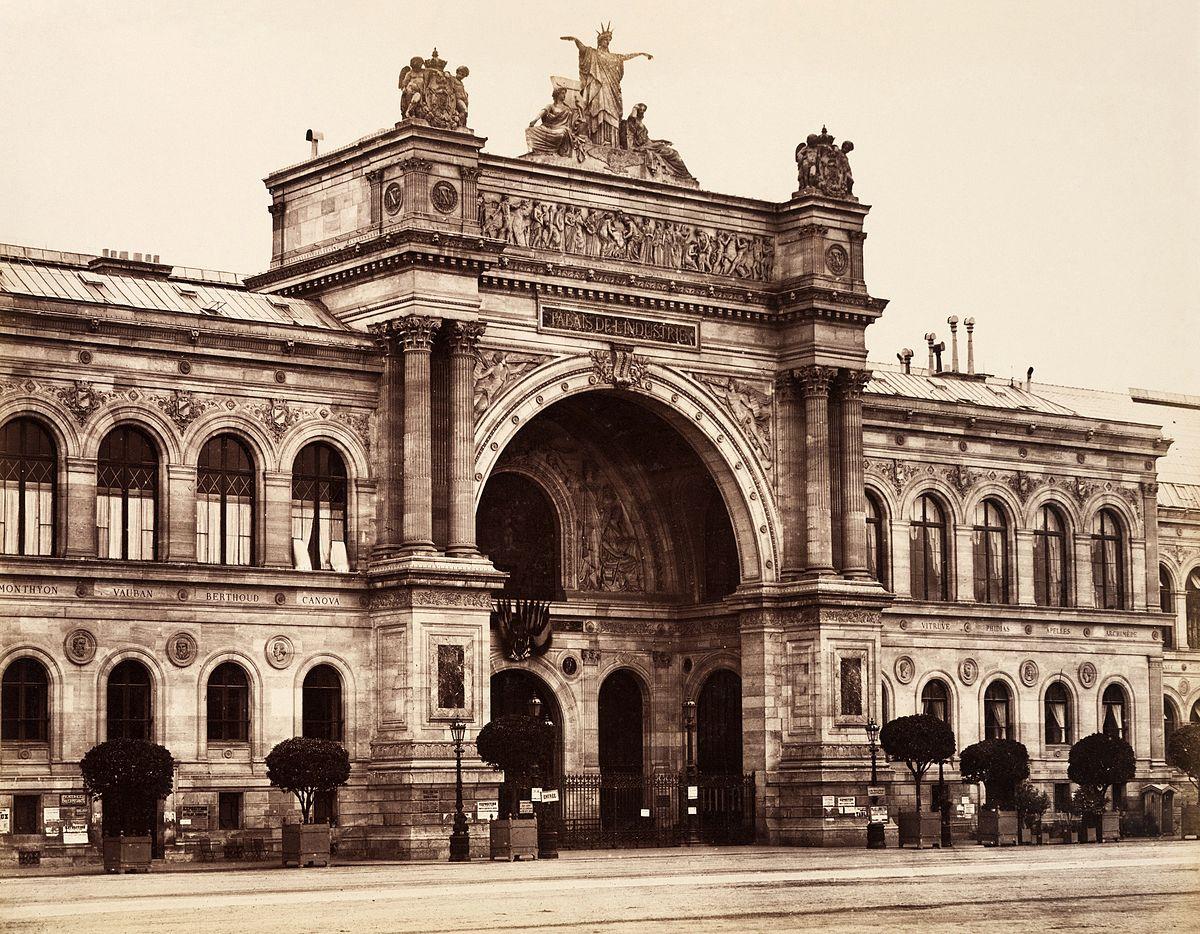 Palais de l'Industrie - Edouard Baldus